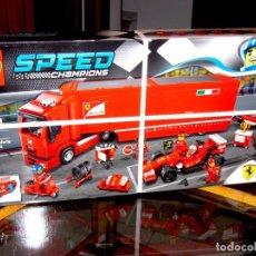 Juegos construcción - Lego: LEGO 75913. F14 T & CAMIÓN DE LA ESCUDERÍA FERRARI. PRECINTADO. Lote 118620159