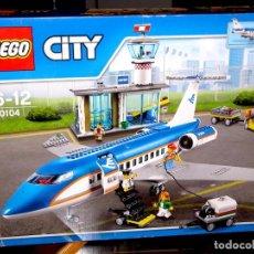 Juegos construcción - Lego: LEGO 60104. AEROPUERTO, TERMINAL DE PASAJEROS. PRECINTADO DE FÁBRICA. Lote 118621387