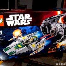 Juegos construcción - Lego: LEGO STAR WARS 75150 TIE ADVANCED DE VADER VS. A-WING STARFIGHTER. PRECINTADO. Lote 118626531