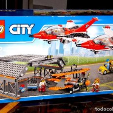 Juegos construcción - Lego: LEGO 60103. AEROPUERTO: ESPECTÁCULO AEREO. TOTALMENTE NUEVO Y PRECINTADO DE FÁBRICA. Lote 118627295