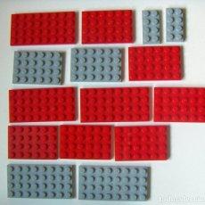 Juegos construcción - Lego: LOTE DE UNAS 90 PIEZAS DE LEGO VER MÁS FOTOS. Lote 118642307