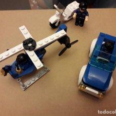 Juegos construcción - Lego: 07-00541 JUEGO TIPO LEGO POLICIA (SOLO LOS VEHICULOS). Lote 118665851