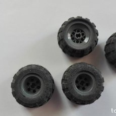 Juegos construcción - Lego: 4 RUEDAS LEGO GROUP 43.2X28 S. Lote 119194443