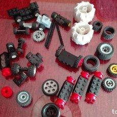 Juegos construcción - Lego: LEGO RUEDAS EJES. Lote 119207163