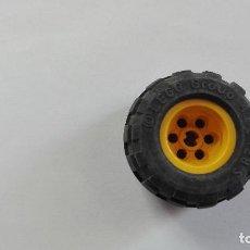 Juegos construcción - Lego: LEGO 1 RUEDA LEGO GROUP 43.2X28 S AMARILLO. Lote 119209095