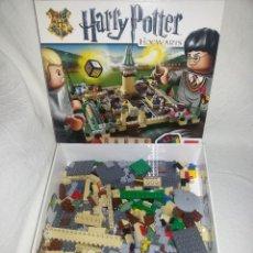 Juegos construcción - Lego: LEGO LOTE PIEZAS VARIADAS-HOGWARTS HARRY POTTER. Lote 120040315