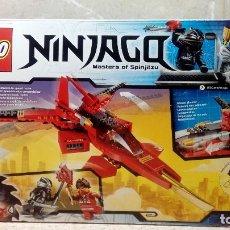 Juegos construcción - Lego: CAJA DE LEGO NINJAGO Nº 70721, NAVE ESPACIAL DE LEGO Y MUÑECO LEGO POLICIA DE REGALO * COMPLETA *. Lote 120097011