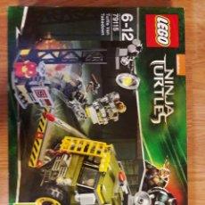 Juegos construcción - Lego: JUGUETE LEGO 79115 NINJA TURTLES. Lote 120366346