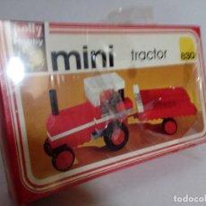 Juegos construcción - Lego: POLLY HOBBY MINI TRACTOR REFERENCIA 830 TIPO LEGO. Lote 120624407