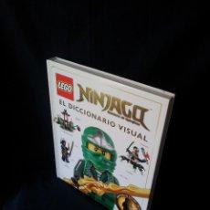 Juegos construcción - Lego: LEGO - NINJAGO, MASTERS OF SPINJITZU - EL DICCIONARIO VISUAL - 2015 (SIN MINIFIGURA). Lote 120692155