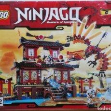 Juegos construcción - Lego: CATALOGO LIBRO INSTRUCCIONES LEGO NINJAGO 2507. Lote 121560130