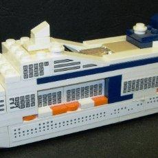 Juegos construcción - Lego: LEGO BARCO, CRUCERO MSC MERAVIGLIA, EDICIÓN LIMITADA, EXCLUSIVA MSC. Lote 122196498
