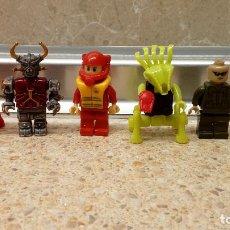 Juegos construcción - Lego: LOTE DE 6 MUÑECOS DIFERENTES DE LEGO, JUGUETE DE CONSTRUCCION LEGO.. Lote 122263471