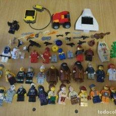 Juegos construcción - Lego: LOTE LEGO - STARWARS - R2P2 - DIFERENTES PIEZAS Y MUÑECOS. Lote 123371127