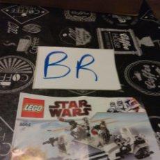 Juegos construcción - Lego: INSTRUCCIONES DE MONTAJE LEGO 8084 STAR WARS. Lote 123393736