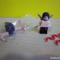 Juegos construcción - Lego: LOTE LEGO ORIGINAL SERIE PRINCE OF PERSIA CON DASTAN, AVESTRUZ NUEVA Y 2 SERPIENTES ROJAS. Lote 124089259
