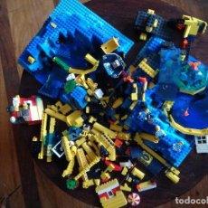 Juegos construcción - Lego: LOTE PIEZAS LEGO MUNDO SUBMARINO. Lote 126129807
