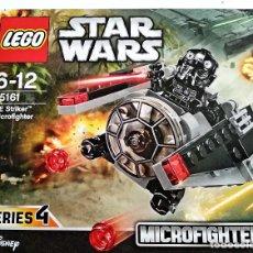 Juegos construcción - Lego: LEGO STAR WARS, MICROFIGHTERS # TIE STRIKER # 75161 - SERIES 4 - NUEVO Y PRECINTADO.. Lote 126201651