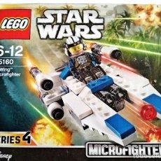 Juegos construcción - Lego: LEGO STAR WARS, MICROFIGHTERS # U-WING # 75160 - SERIES 4 - NUEVO Y PRECINTADO.. Lote 126202083