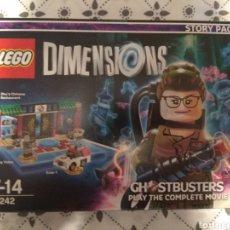 Juegos construcción - Lego: ~JUEGO DE CONSOLA Y LEGO DIMENSIONS STORY PACK GHOSTBUSTERS, CAZAFANTASMAS, 71242, NUEVO,A ESTRENAR~. Lote 127174975