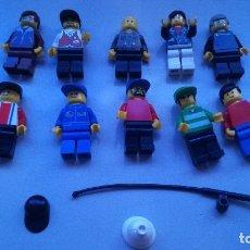 Juegos construcción - Lego: GRAN LOTE DE FIGURAS VARIADAS. Lote 114744935