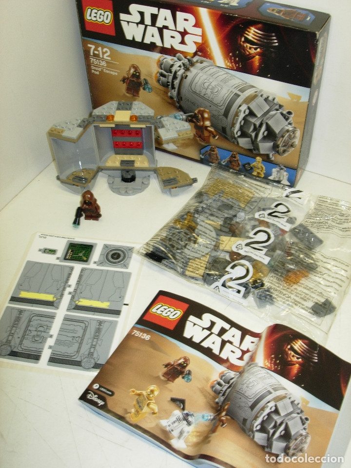 Juegos construcción - Lego: LEGO STAR WARS DROID ESCAPE POD ref. 75136 + GALACTIC EMPIRE BATTLE PACK ref. 75134 - Foto 2 - 127492636