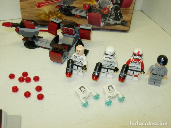 Juegos construcción - Lego: LEGO STAR WARS DROID ESCAPE POD ref. 75136 + GALACTIC EMPIRE BATTLE PACK ref. 75134 - Foto 4 - 127492636