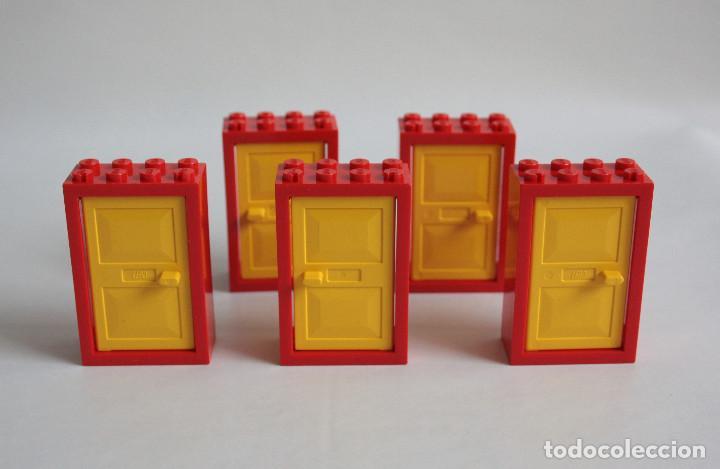 5 x lego puerta 2 x 4 x 5 marco rojo con puerta - Comprar Juegos ...