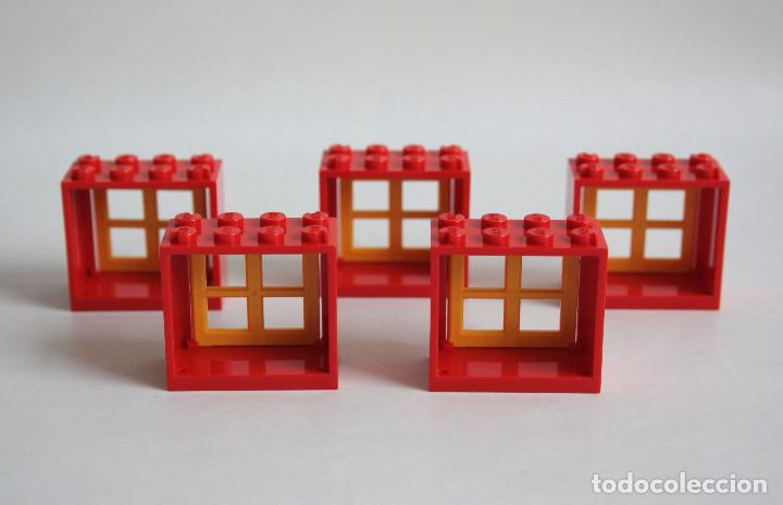 5 x lego ventana 2 x 4 x 5 marco rojo con venta - Comprar Juegos ...