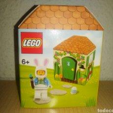 Juegos construcción - Lego: FIGURA EXCLUSIVA DE LEGO. CABAÑA DEL CONEJO DE PASCU. 5005249. Lote 127647336