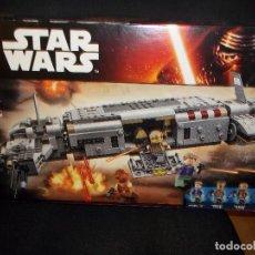 Juegos construcción - Lego: LEGO STAR WARS 75140 TRANSPORTE DE TROPAS DE LA RESISTENCIA. Lote 127826011