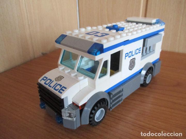 LEGO FURGON POLICIA COMPLETO (Juguetes - Construcción - Lego)
