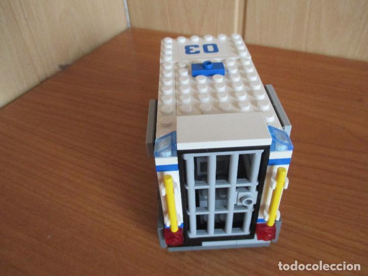 Juegos construcción - Lego: LEGO FURGON POLICIA COMPLETO - Foto 3 - 127848415