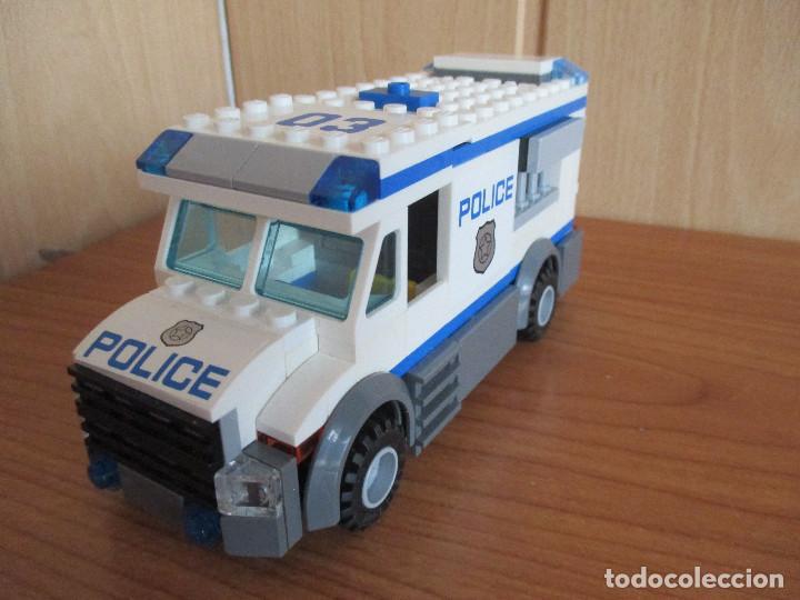 Juegos construcción - Lego: LEGO FURGON POLICIA COMPLETO - Foto 4 - 127848415