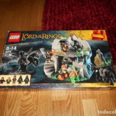 Juegos construcción - Lego: LEGO EL SEÑOR DE LOS ANILLOS 9472 EMBOSCADA EN LA COLINA DEL VIENTO ABIERTO MUY COMPLETO LEE DESCRIP. Lote 127848607
