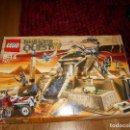 Juegos construcción - Lego: LEGO PHARAOH'S QUEST SCORPION PYRAMID 7327 LA PIRAMIDE DEL FARAON DESCATALOGADO MUY COMPLETO. Lote 127848799