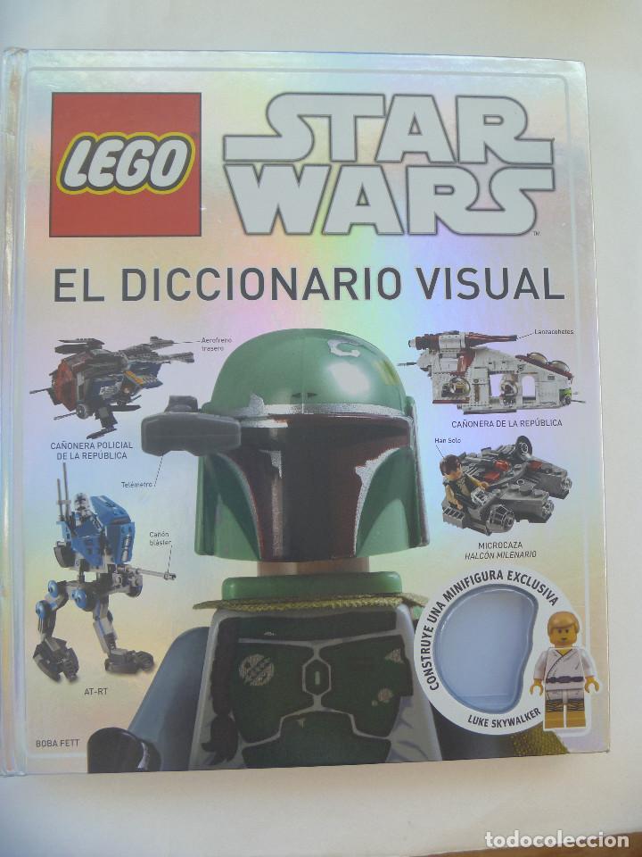 LEGO : LIBRO STAR WARS . EL DICCIONARIO VISUAL ... ¡ SIN LA FIGURA ! (Juguetes - Construcción - Lego)