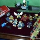 Juegos construcción - Lego: LOTE LEGO MUÑECOS LEGENDS OF CHIMA + TODOTERRENO 4437 + LANCHA ZODIAC COLECCIÓN VARIADA. Lote 128785719