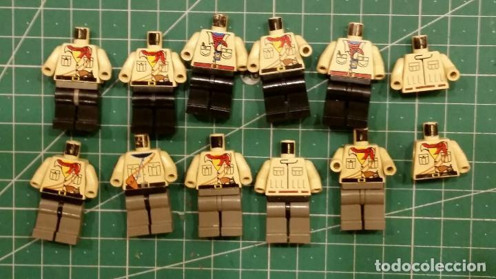 LEGO 10 CUERPOS Y 2 TORSOS (Juguetes - Construcción - Lego)