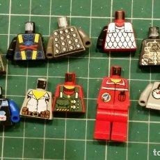 Juegos construcción - Lego: LEGO 10 TORSOS. Lote 129149463