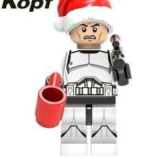 Juegos construcción - Lego: SANTA CLONE STAR WARS LEGO COMPATIBLE. Lote 129337963