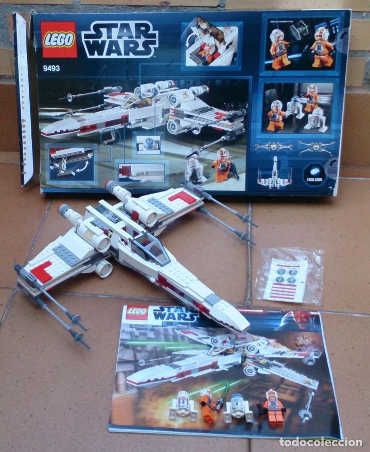NAVE LEGO X WING STARFIGHTER 9493 STAR WARS (Juguetes - Construcción - Lego)