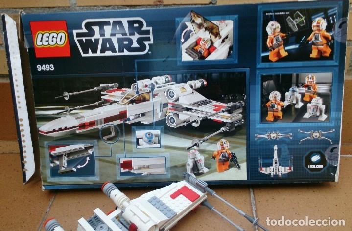 Juegos construcción - Lego: Nave Lego X Wing Starfighter 9493 Star Wars - Foto 4 - 129342247