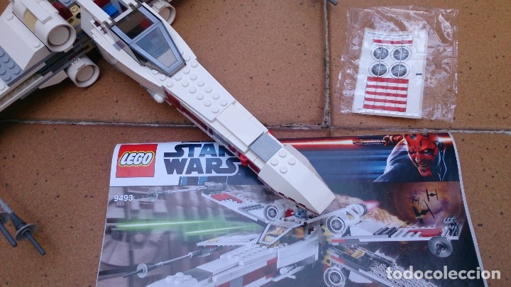 Juegos construcción - Lego: Nave Lego X Wing Starfighter 9493 Star Wars - Foto 7 - 129342247