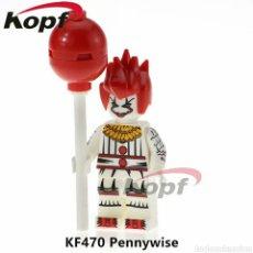 Juegos construcción - Lego: PENNYWISE IT COMPATIBLE DE TERROR PAYASO. Lote 195163276
