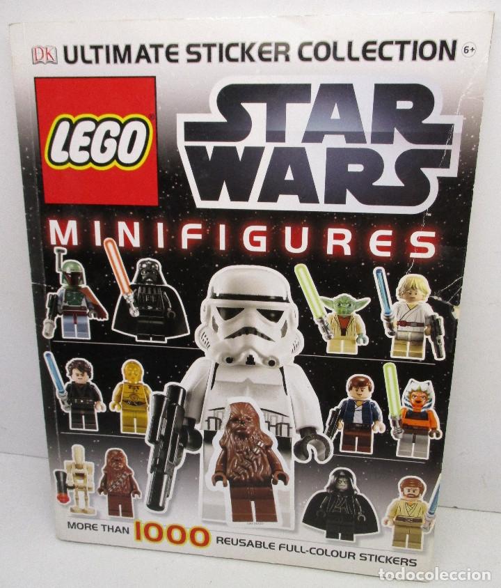 Juegos construcción - Lego: LEGO STAR WARS lote de figuras + libro adhesivos - Foto 5 - 129747343