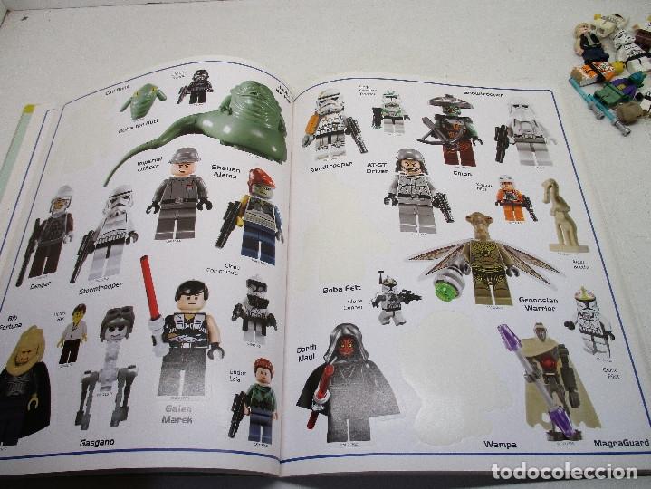 Juegos construcción - Lego: LEGO STAR WARS lote de figuras + libro adhesivos - Foto 6 - 129747343