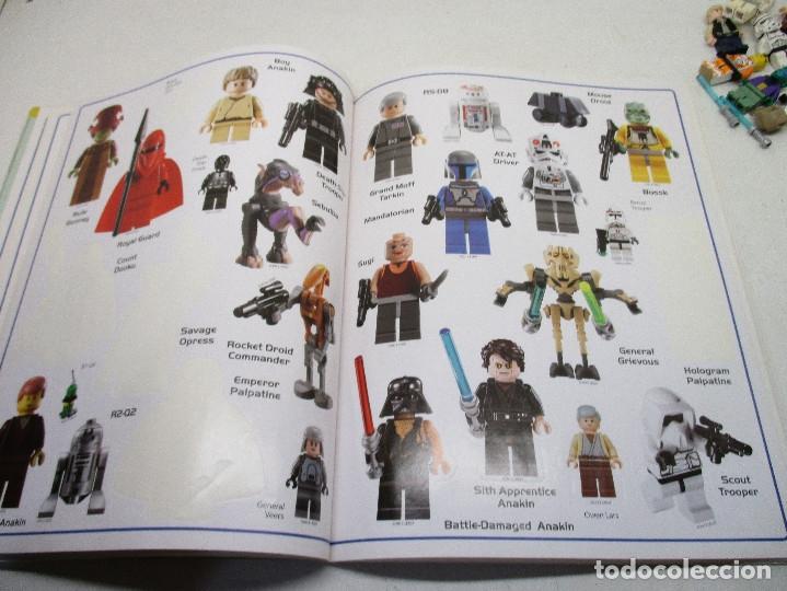 Juegos construcción - Lego: LEGO STAR WARS lote de figuras + libro adhesivos - Foto 7 - 129747343