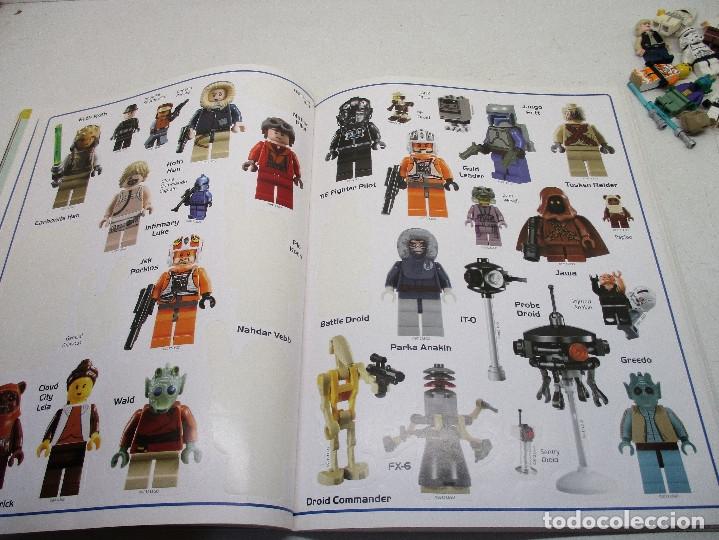 Juegos construcción - Lego: LEGO STAR WARS lote de figuras + libro adhesivos - Foto 8 - 129747343