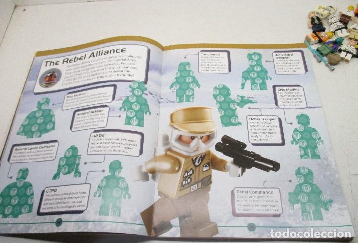 Juegos construcción - Lego: LEGO STAR WARS lote de figuras + libro adhesivos - Foto 9 - 129747343